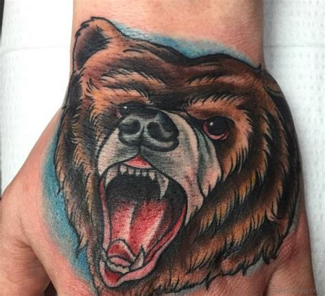 Cool Bear Tattoo