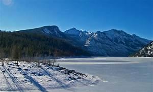 Bitterroot Mountains In Montana