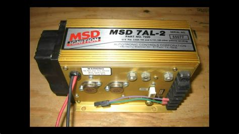 Msd 7al 3 Wiring by Msd 7al Box Book
