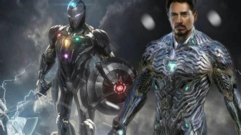 tony stark vibranium iron man suit mark  avengers