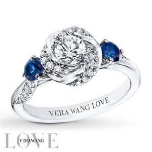 vera wang engagement ring vera wang 5 8 ct tw diamonds 14k white gold ring