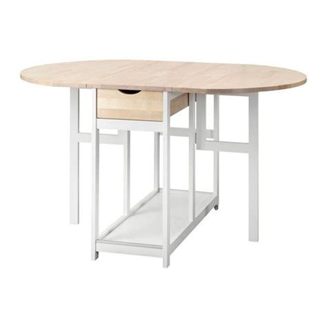 ikea round table with leaf hedesunda drop leaf table ikea kitchen pinterest