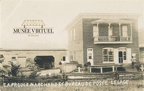 bureau de poste prevost maison e a proulx 997 rue principale mus 233 e virtuel