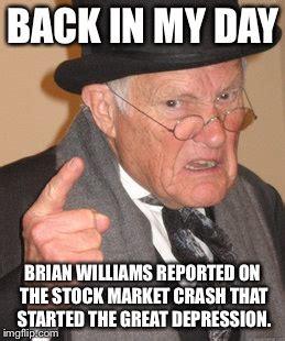 Stock Market Meme - back in my day meme imgflip