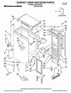 Kitchenaid Kuic15nlts2 Parts List Pdf Download