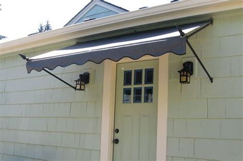 spearhead awning   front door   home