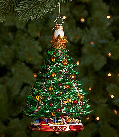Dillards Christmas Tree Picks by Christopher Radko Holiday Centerpiece Tree Ornament