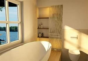 Badgestaltung Mit Pflanzen : badgestaltung modernes bad mit ausblick my lovely bath magazin f r bad spa ~ Markanthonyermac.com Haus und Dekorationen