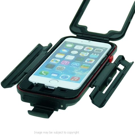 motorcycle iphone mount tigra bikeconsole waterproof with m8 motorcycle mount