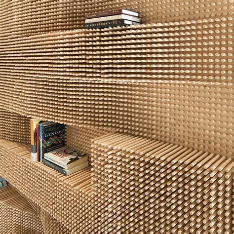 modern wooden peg board bookshelf   home peg