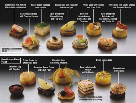 beautiful canapes recipes savoury and canapes appetizers