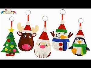 Felt Craft Merry Christmas Santa Plushie Easy Sewing Fun