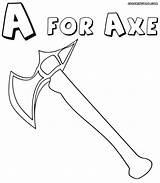 Axe Coloring Axe3 1000px 35kb sketch template