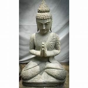 Statue Bouddha Pas Cher : bouddha de jardin pas cher top bouddha jardin achat vente bouddha jardin pas cher cdiscount ~ Teatrodelosmanantiales.com Idées de Décoration