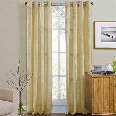 Weston Grommet Top Window Curtain Panel   Bed Bath & Beyond