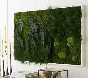 moss and fern wall art from viva terra indoor places With moss wall art