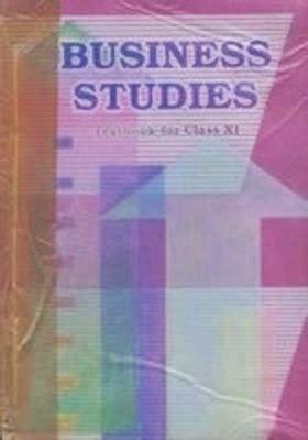 ncert text book business studies textbook  class xi