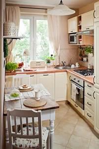 Küchenfliesen Boden Landhaus : kleine k che einrichten landhausstil creme farbe kleiner essbereich home pinterest creme ~ Sanjose-hotels-ca.com Haus und Dekorationen