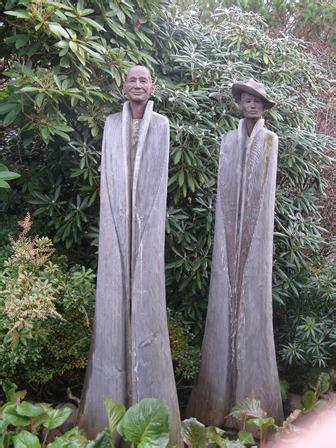 Skulpturen Aus Holz Für Den Garten by Stahl Skulpturen
