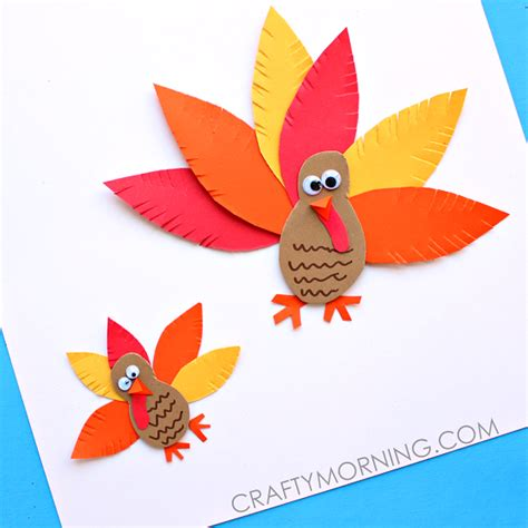 simple paper turkey craft paper crafts for find craft ideas 5430