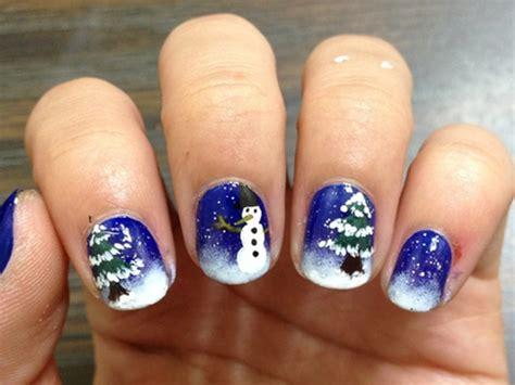 top  christmas nail art designs  beginners