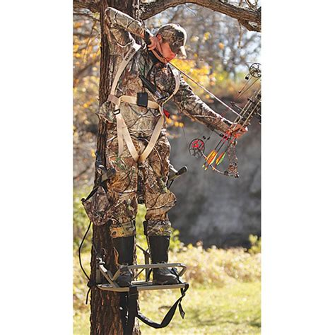 Gander Mountain Tree Stands by Api Outdoors 174 Bowhunter Climbing Tree Stand 203943