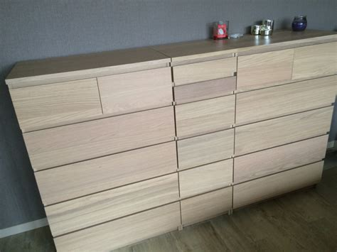 ikea bed with drawers disguised malm laundry basket ikea hackers ikea hackers