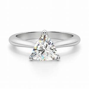 bali trillion cut engagement ring With trillion wedding ring