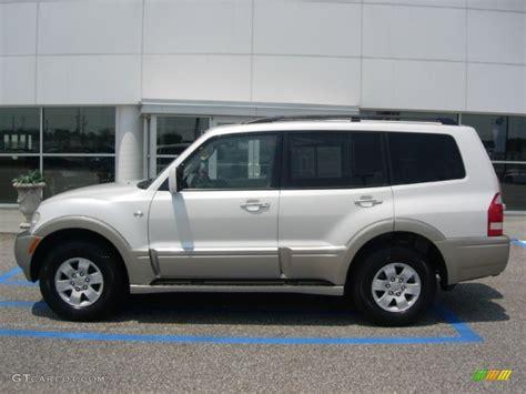 Mitsubishi Montero Limited 2003 by Glacier White Pearl 2003 Mitsubishi Montero Limited 4x4