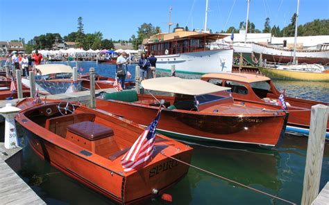 Wooden Boat Show 2017 Michigan hessel wooden boat show 2017