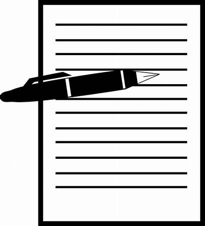 Clipart Sheet Pen