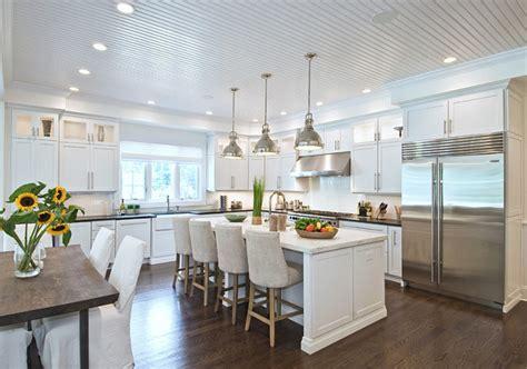 Kitchen White Beadboard Ceiling Ideas