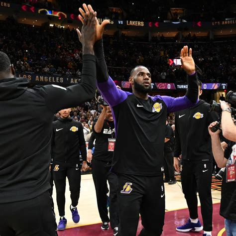 lebron lakers  cavs  espns highest rated regular
