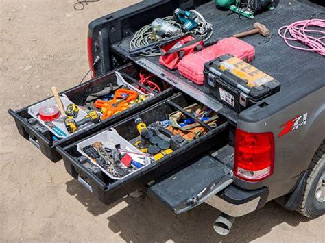 decked truck bed organizer decked truck bed storage system truck bed organizer