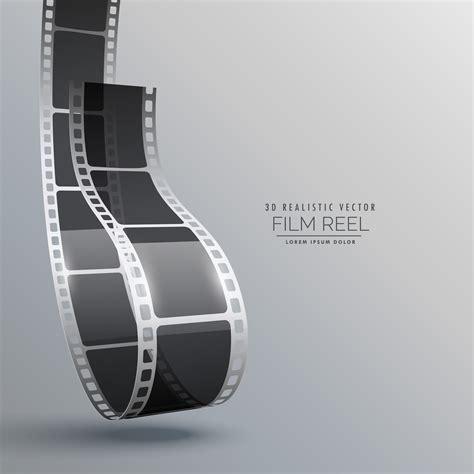 film strip   style vector design