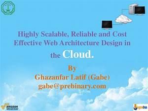 Cloud based web architecture (presntation)