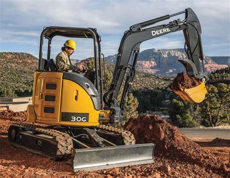 john deere compact excavators summarized  spec guide compact equipment magazine