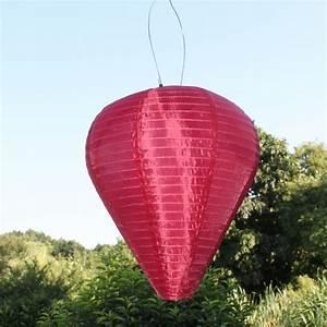 Garten Lampions Wetterfest : solar led laterne wetterfest ballon bordeaux ~ Frokenaadalensverden.com Haus und Dekorationen