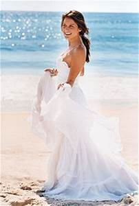 Wedding trend ideas beach wedding dresses pictures for Beach wedding bride dresses