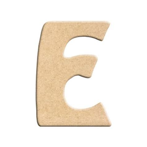 lettre cuisine en bois lettre e à peindre à décorer lettre en bois brut