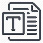 Template Document Icon Icons Text Illustration Lifestation