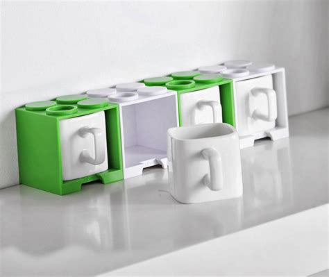 Try prime hello, sign in account & lists sign in account & lists orders try prime cart. Cube Coffee Mug With Lego Shaped Stackable Storage Container