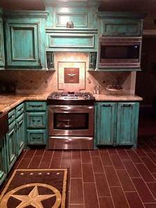 best 25 distressed kitchen cabinets ideas on pinterest With kitchen cabinets lowes with distressed wood and metal wall art