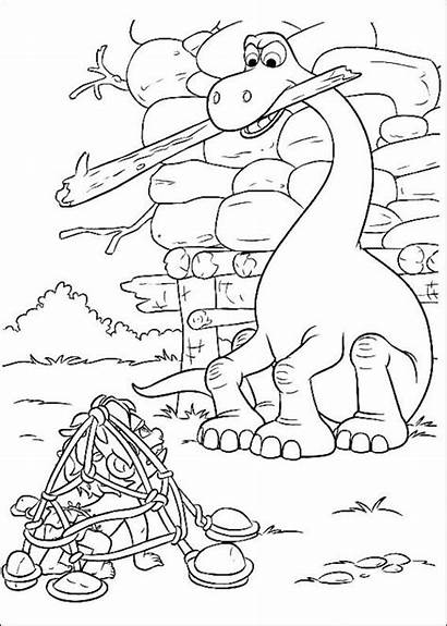 Dinosaur Coloring Pages Fun