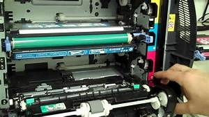 Error 10 92 00 Cartridges Not Engaged - Color Laserjet 3600