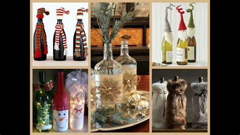 christmas bottle decorating ideas youtube