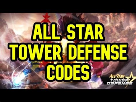 There you can redeem codes. ALL STAR TOWER DEFENSE CODES ROBLOX - YouTube