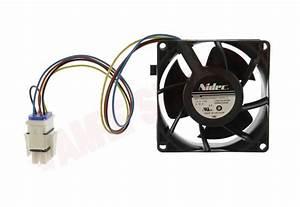 Wg03f05740   Ge Refrigerator Evaporator Fan Motor