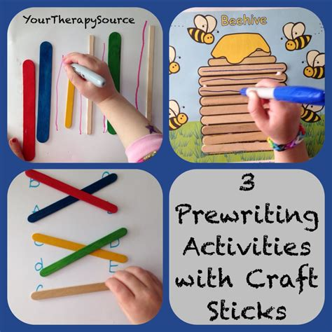 3 pre writing activities using craft sticks your therapy 608 | photo 31 1024x1024