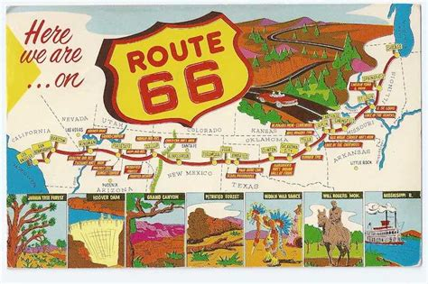 travel guide  historic  route   mother road
